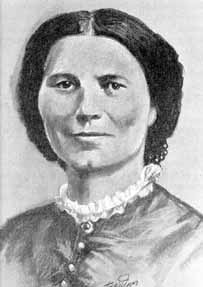 "During the Civil War, Clara Barton was a famous nurse. She was remembered by many soliders as the ""Angel of the Battlefield."" Clara Barton also established the first American Red Cross."