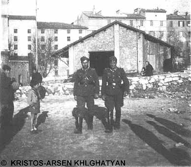 Nazi-Armenians patrolling the South of France, 1943