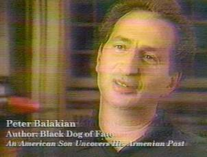 Peter Balakian, the Black Dog of Fate, woof-woofs any and all protests against Turkey... regardless of the facts