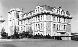 A 1919 photo of Robert College, in Istanbul--co-founded by missionary Cyrus Hamlin
