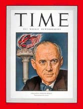 Journalist Clarence Streit, featured on TIME Magazine cover while he was with the Atlantic Monthly