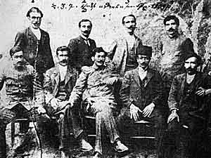 Dashnak leaders, reportedly from the late 19th Century