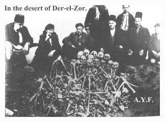 "A ""Fishy Foto"" some Armenian claimed depicts an excavation scene ""in the desert of Der-el-Zor."" But is it?"
