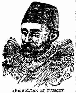 A poor illustration of Abdul Hamid