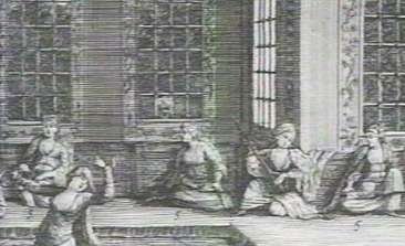 A Harem scene; From the PBS program, ISLAM: EMPIRE OF FAITH