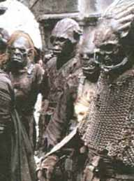 Orcs from LORD OF THE RINGS