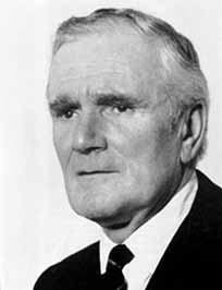 Desmond Llewelyn as Q, from the James Bond movies
