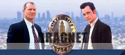 From DRAGNET: Starring Ed O'Neill as Sgt. Joe Friday and Ethan Embry as Det. Frank Smith