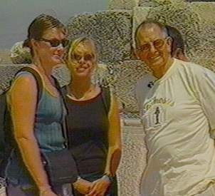 Two Australian lasses vacationing in Turkey, with Sam Weems