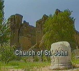 One of the seven churches Sam Weems visited: Church of St. John
