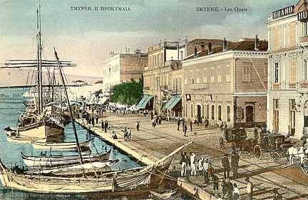 Izmir and its seaside quays